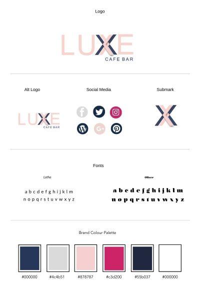 Branding_Board_Luxe_Redhead_Grpahic_Design